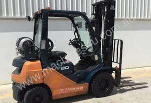 Toyota 32-8FG20 Counterbalanced Foklift - Brisbane