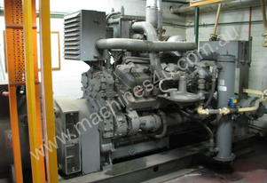 Large Industrial Gas Generator - 300kW