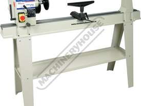 WL-20 Swivel Head Wood Lathe 370mm Swing x 1100mm Between Centres - picture3' - Click to enlarge