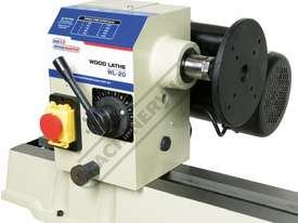 WL-20 Swivel Head Wood Lathe 370mm Swing x 1100mm Between Centres - picture10' - Click to enlarge