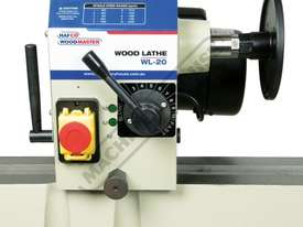 WL-20 Swivel Head Wood Lathe 370mm Swing x 1100mm Between Centres - picture11' - Click to enlarge
