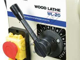 WL-20 Swivel Head Wood Lathe 370mm Swing x 1100mm Between Centres - picture19' - Click to enlarge
