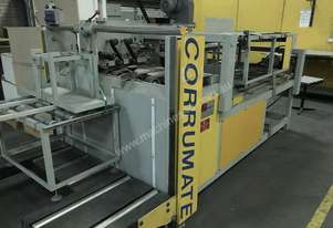 Corrumate Semi-auto Box Gluing Machine