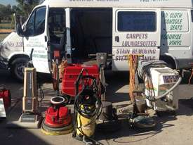 Complete set of Cleaning equipment + Ford Transit  - picture1' - Click to enlarge