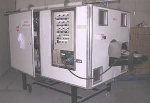 Continuous Industrial Microwave System