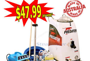 Sabrina Polivac Predator MKII with Mytee Continuous Flow Heater Carpet & Upholstery Cleaning Busines