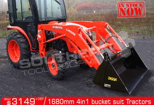 1680 mm 4 in 1 Bucket suit Tractor Front End Loader ATT4IN1