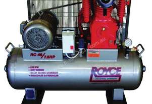 ROYCE RC46, 7.5HP 3 Phase Air Compressor