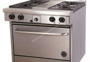 Goldstein 4 Burner Gas Range, Fan Forced Oven PF-4-28FF