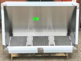 STAINLESS STEEL EXHAUST CANOPY - picture0' - Click to enlarge
