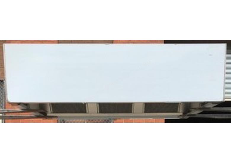 STAINLESS STEEL EXHAUST CANOPY
