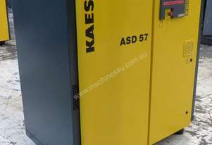 2007 Kaeser ASD57 Electric Compressor, 201cfm 11bar 8410 Hours on Clock