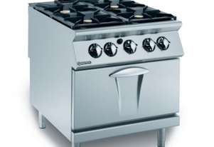 Mareno ANC9FE-8G28 4 Gas Burners On Electric Oven