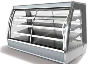 FPG 3A12-CU-FF 3000 Series Ambient Fixed Front Food Cabinet - 1200mm