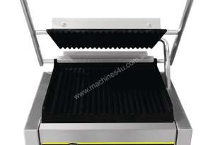 Apuro Bistro Contact Grill - Large (Ribbed/Ribbed) - AUS PLUG