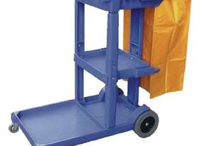 Jantex   Cleaning Trolley Blue