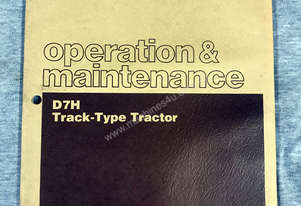 CAT D7H Operation & Maintenance Manual 4BF1-UP, 4FG1-UP