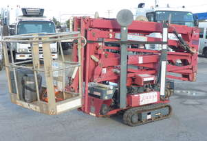 2007 Hindwa Light Lift 19.65 Track Mounted Boom Spider Lift with 360 Slew - In Auction