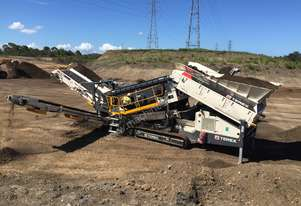TEREX ENVIRONMENTAL EQUIPMENT TRS550 SPALECK RECYCLING SCREEN