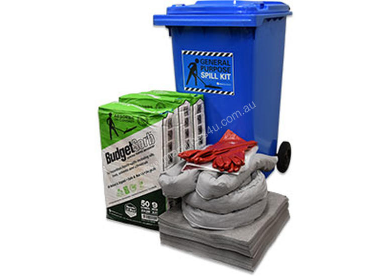 General Purpose Spill Kit � 202L absorbent capacity
