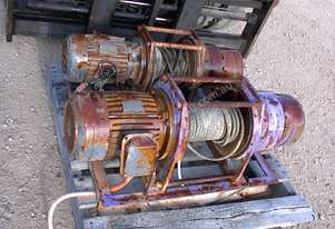 Pacific Hoists Pacific Electric winch/hoist