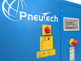 Pneutech 7.5hp Rotary Screw Air Compressor, Integrated Receiver And Refrigerator Dryer - picture5' - Click to enlarge