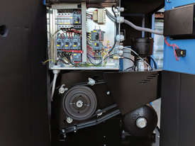 Pneutech 7.5hp Rotary Screw Air Compressor, Integrated Receiver And Refrigerator Dryer - picture11' - Click to enlarge