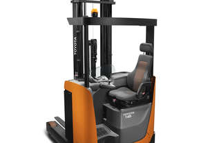 Toyota 1.2 - 1.6 Tonne 8-Series 3-Wheel Sit Down Reach Forklift