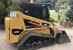 2014 CATERPILLAR 247B3LRC FOR SALE LOW HOURS WITH 5T ALLOY RAMPS AND LEVELLING BAR