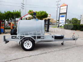Diesel Fuel Trailer 1200L w Hose Reel & counter TFPOLYDT  - picture0' - Click to enlarge