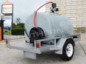 Diesel Fuel Trailer 1200L w Hose Reel & counter TFPOLYDT  - picture1' - Click to enlarge
