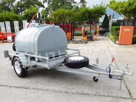 Diesel Fuel Trailer 1200L w Hose Reel & counter TFPOLYDT  - picture2' - Click to enlarge