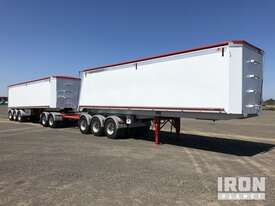 2013 Gippsland Body Builders Tri/A Sliding Road Train Tipping Combination - picture0' - Click to enlarge