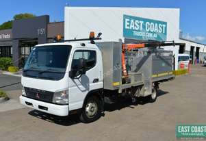 2006 MITSUBISHI CANTER 7/800 Service Vehicle Crane Truck