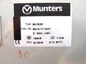 Dehumidifier, Munters, ML1100E, 1100m3/hr. - picture3' - Click to enlarge