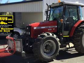 1997 Massey Ferguson 4WD Tractor & Slasher. E.M.U.S. MS480 - picture0' - Click to enlarge