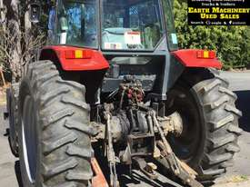 1997 Massey Ferguson 4WD Tractor & Slasher. E.M.U.S. MS480 - picture2' - Click to enlarge