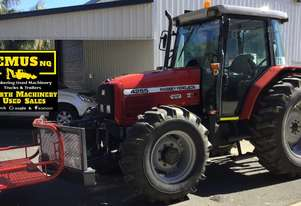 1997 Massey Ferguson 4WD Tractor & Slasher.  MS480