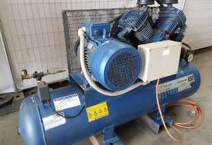 PILOT K60 11Kw 15hp INDUSTRIAL CAST IRON PISTON COMPRESSORS x 2 Italian Pump 60 CFM from $4,400