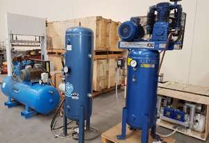 USED PULFORD 79/10 7.5Kw + PILOTAIR K25 4Kw/K30V 5.5Kw/K50 7.5Kw AIR COMPRESSORS -  SALE