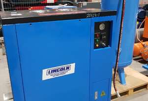 Used SILENT 7.5Kw + MARKWELL 10hp Compressors. Dryers + Tanks