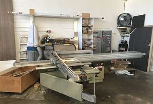 Table Saw + extractor and Edgebander + extractor Combo!