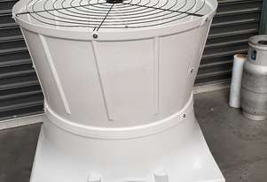 CORROSION PROOF INDUSTRIAL 3 PHASE 36 INCH CONE FAN AUTO SHUTERS
