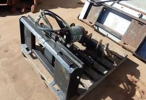*As New* Digga PD3 Auger Drive and Augers to suit Skidsteer Loader