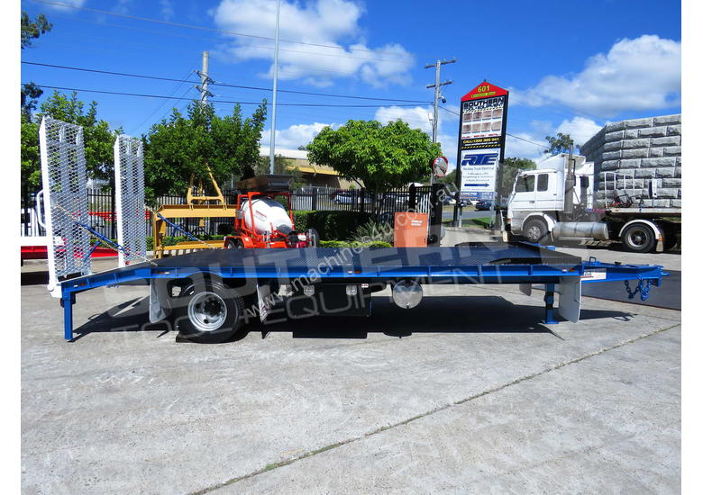 Single Axle Tag Trailer 11 Ton Metallic Blue  ATTTAG