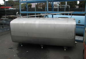Stainless Steel Tank Vat Milk Food Grade - 2300L