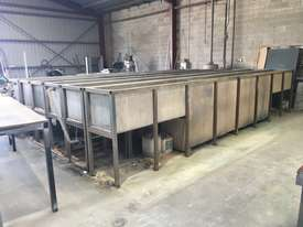 Powdercoating extrusion dipping tanks - picture0' - Click to enlarge