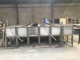 Powdercoating extrusion dipping tanks - picture1' - Click to enlarge