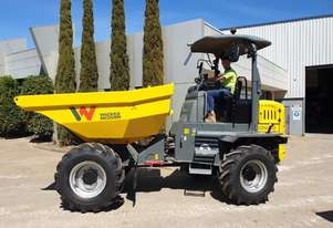 NEW WACKER NEUSON DW60 6T SWIVEL SITE DUMPER