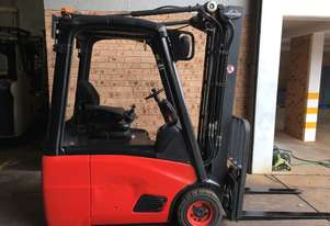 2013 Roll Out Linde E16 Container Mast 4.6m Side Shift Great Battery Like New Co